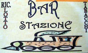Il logo del Bar Stazione a Marina di Gioiosa ionica
