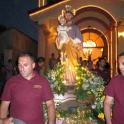 Processione di San Giuseppe in contrada Camocelli superiore a Marina di Gioiosa Ionica 2