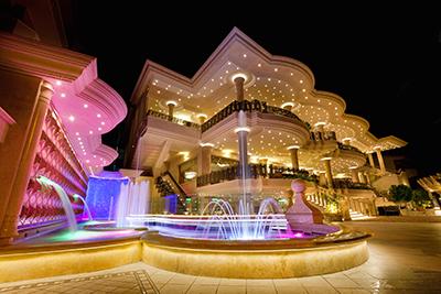 Esterni del Hotel Ristorante Sabbia d'oro a Marina di Gioiosa Ionica 2