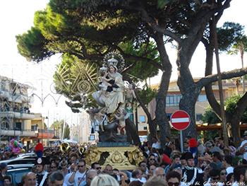 Madonna del carmine 2015 a Marina di Gioiosa Ionica 1