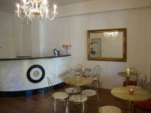 Hall e reception del bed & breakfast b&b Torre dei Saraceni a Marina di Gioiosa Ionica