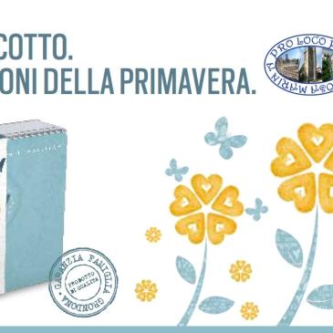 Immagine promozionale della campagna Telethon Cuori di Biscotto I doni più buoni della primavera 2016 sostenuta dalla Pro Loco Per Gioiosa Marina